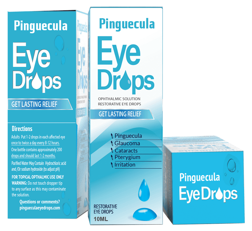 Pinguecula Eye Drops = Fraudulent Product