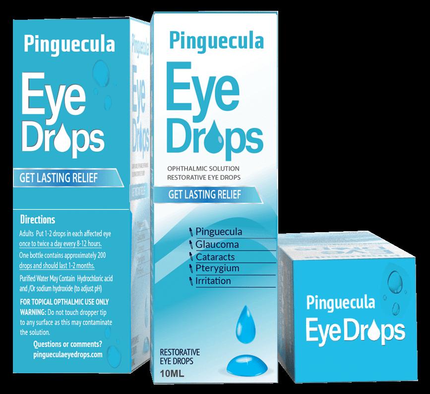 Pinguecula Eye Drops = Fraudulent Product